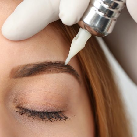 Eyebrow Tinting Or Coloring